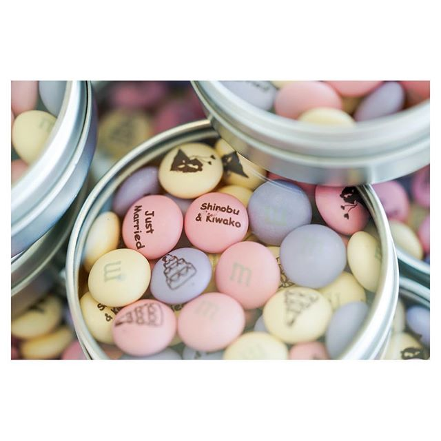 .もうすぐバレンタイン️Valentine's Day wedding ならギフトはチョコで決まり︎世界にひとつだけのカスタマイズチョコなら特別感もたーっぷり◡̈♡