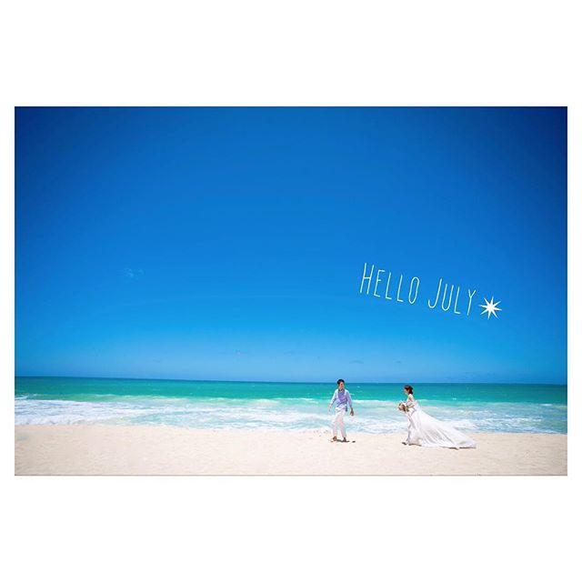 .大好きな夏がやってきた︎Hello July.青い空と青い海ビーチフォトにこだわるならワイキキから少し足をのばしてワイマナロへGo