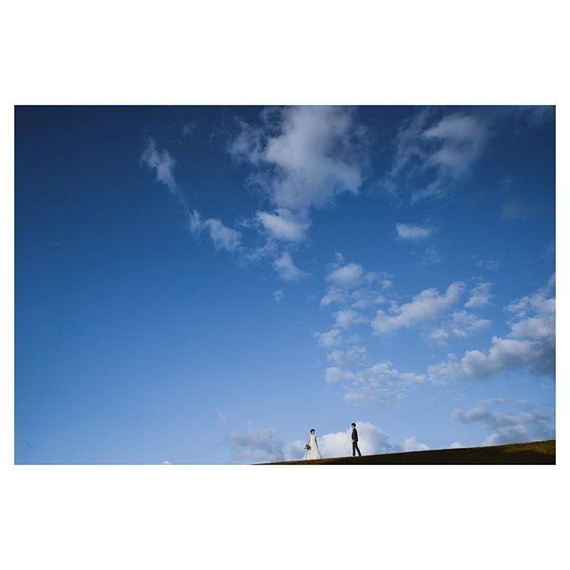 .特別な日に見る 青くて広い空🕊.. @hideohba Produced by @la.chic.weddings