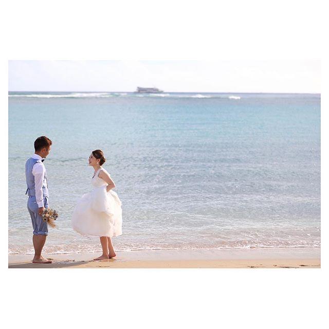 .飾らないいつも通りのふたりがなんか良い♡.. @makoozaki Produced by @la.chic.weddings