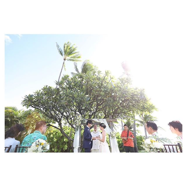 .Wedding Vows🕊Halepunakai . @makoozaki Produced by @la.chic.weddings