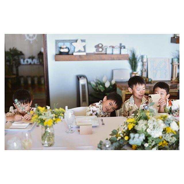 .キッズも楽しい邸宅ウェディング◡̈♡Halepunakai Wedding.. @hideohba Produced by @la.chic.weddings