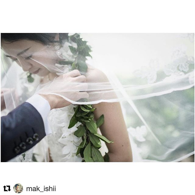 #Repost @mak_ishii with @get_repost・・・・カフーウェディングならではのマイリレイ交換produced by @la.chic.weddings makeup by @hisami_hairmake @moanaluagardenswedding