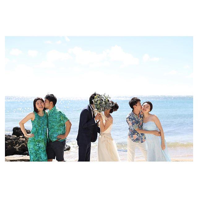 .なんて可愛い3カップル♡ゲストと楽しむフォトツアー..Photo by @makoozaki Produced by @la.chic.weddings