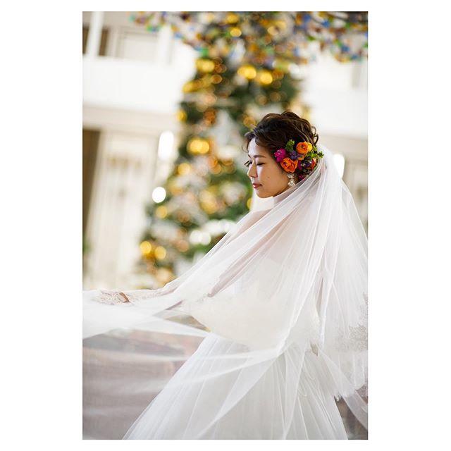 .Shining like jewelsでもいちばん輝いてるのはやっぱりBRIDE︎.. @mak_ishii  @hisami_hairmake Produced by @la.chic.weddings