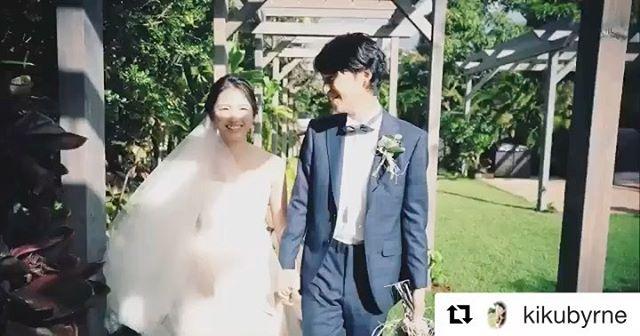 .幸せな時間#Halepunakai wedding@kikubyrne ...本日のハワイサンセットライブ配信の模様はいつも素敵な映像を届けてくれるkikuさんのアカウントより、是非ご覧ください。ほんの数分ハワイに繋がっただけで、ものすごくパワーをもらった︎やっぱりハワイが好き。